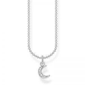 Halsband med Pavémåne från Thomas Sabo