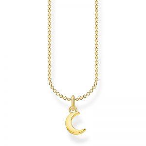 Halsband med Måne Guld från Thomas Sabo