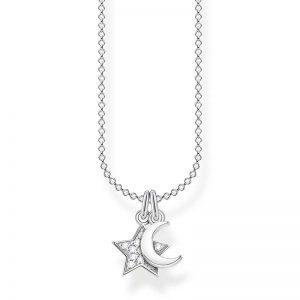 Halsband med Stjärna och Måne från Thomas Sabo