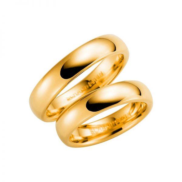 Schalins Förlovningsring 220-5 18K Guld - TeBoon.se