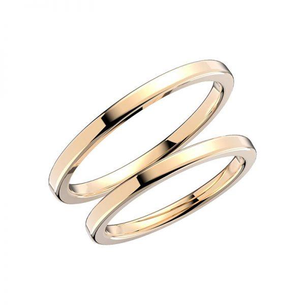 Schalins Förlovningsring 237-2 18K Guld - TeBoon.se