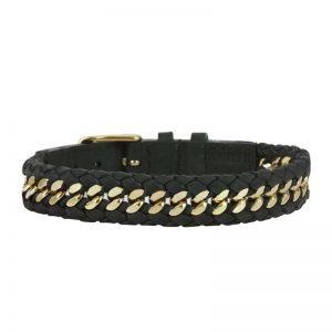 KIAN Armband Svart/Guld från AROCK
