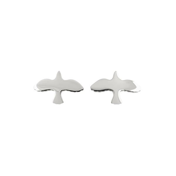 Silver Dove Pin Earrings från Emma Israelsson - Fri frakt & snabb leverans