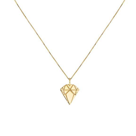 Golden Diamond Necklace Small från Emma Israelsson