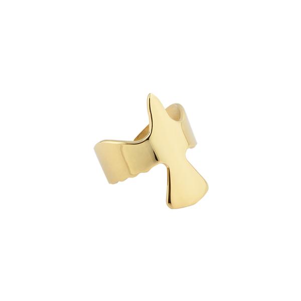 Golden Dove Wing Ring - Emma Israelsson - Fri & snabb frakt på Jewelrybox.se