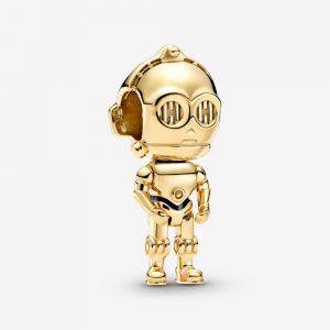 Star Wars C-3PO Hängberlock från PANDORA