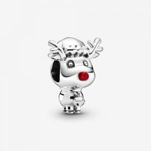 Rudolf med Röda Mulen Berlock från PANDORA