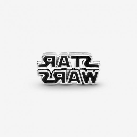 Glänsande Berlock med Star Wars-logotyp Silver från PANDORA