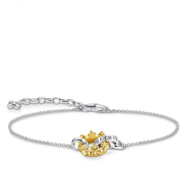 Armband Krona Guld från Thomas Sabo