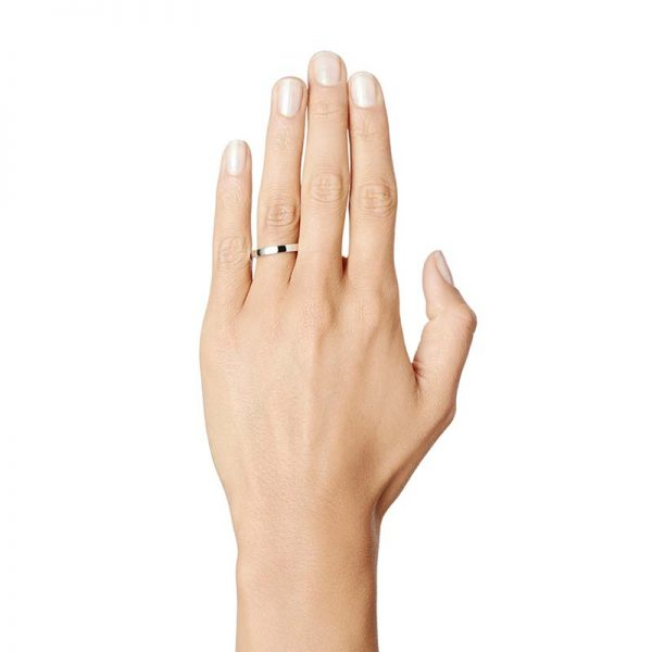 Half Round Ring Silver från Efva Attling