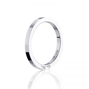 Plain & Signature Thin Ring Silver från Efva Attling