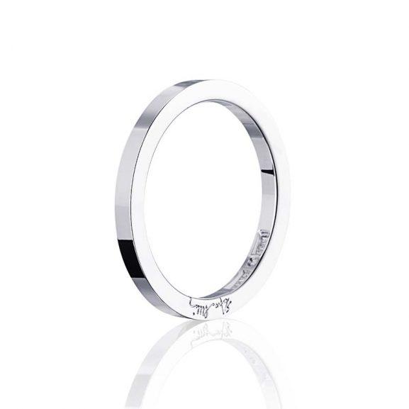 Plain & Signature Thin Ring Silver från Efva Attling