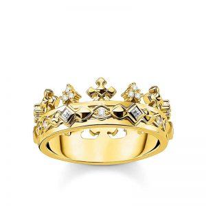 Ring Krona Guld från Thomas Sabo