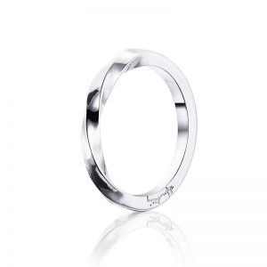 Viking Plain Ring Silver från Efva Attling