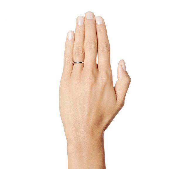 Viking Plain Ring Silver från Efva Attling