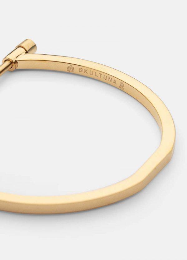 Omega Bangle - Steel & Gold från Skultuna