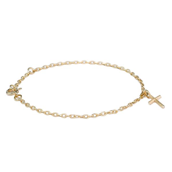 Branch Cross Bracelet Gold från Emma Israelsson