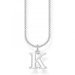 Bokstavshalsband Silver - K från Thomas Sabo