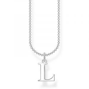 Bokstavshalsband Silver - L från Thomas Sabo