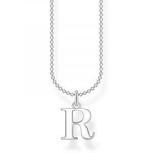 Bokstavshalsband Silver - R från Thomas Sabo