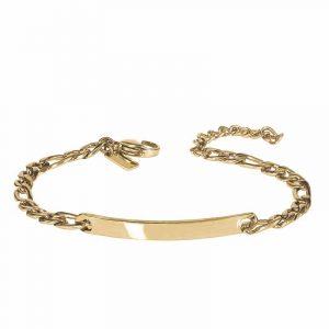 SCOTT Plate Armband Guld från AROCK
