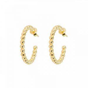 Globe Hoops Gold från Emma Israelsson