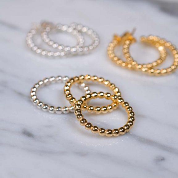 Globe Ring Gold från Emma Israelsson