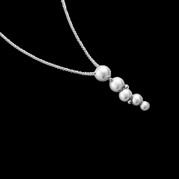 Moonlight Grapes Långt Hängsmycke Silver från Georg Jensen