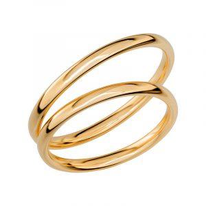 Schalins Förlovningsring Sign Of Love SR1001 18K Guld  - TeBoon.se