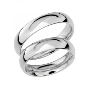 Schalins Förlovningsring Sign Of Love SR1013 18K Platina  - TeBoon.se