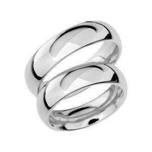 Schalins Förlovningsring Sign Of Love SR1014 18K Platina  - TeBoon.se