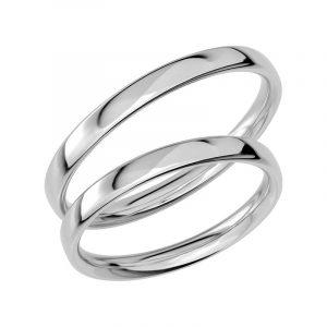 Schalins Förlovningsring Sign Of Love SR1016 18K Platina  - TeBoon.se