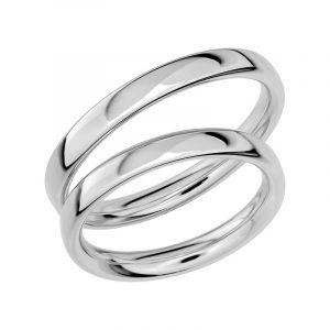 Schalins Förlovningsring Sign Of Love SR1017 18K Platina  - TeBoon.se