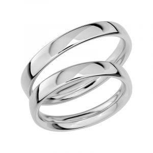 Schalins Förlovningsring Sign Of Love SR1018 18K Platina  - TeBoon.se