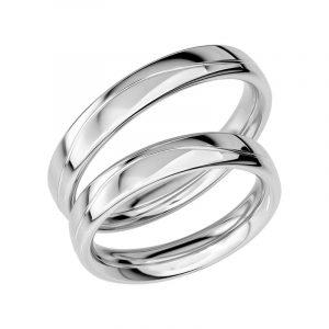 Schalins Förlovningsring Sign Of Love SR1019 18K Platina  - TeBoon.se