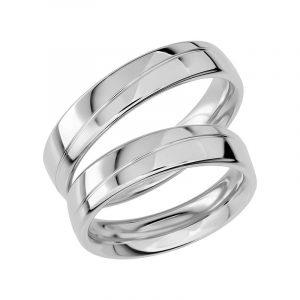 Schalins Förlovningsring Sign Of Love SR1020 18K Platina  - TeBoon.se