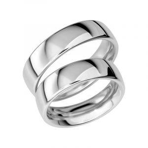 Schalins Förlovningsring Sign Of Love SR1021 18K Platina  - TeBoon.se