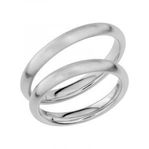 Schalins Förlovningsring Sign Of Love SR1024 18K Platina  - TeBoon.se