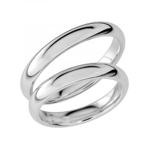 Schalins Förlovningsring Sign Of Love SR1025 18K Platina  - TeBoon.se