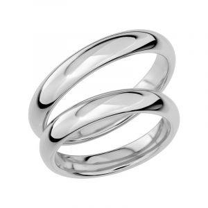 Schalins Förlovningsring Sign Of Love SR1026 18K Platina  - TeBoon.se