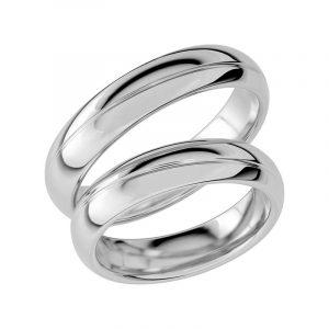 Schalins Förlovningsring Sign Of Love SR1027 18K Platina  - TeBoon.se