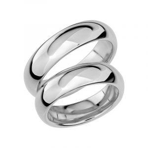 Schalins Förlovningsring Sign Of Love SR1028 18K Platina  - TeBoon.se