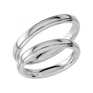 Schalins Förlovningsring Sign Of Love SR1031 18K Platina  - TeBoon.se
