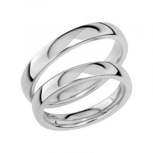Schalins Förlovningsring Sign Of Love SR1032 18K Platina  - TeBoon.se