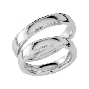 Schalins Förlovningsring Sign Of Love SR1033 18K Platina  - TeBoon.se