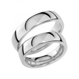 Schalins Förlovningsring Sign Of Love SR1034 18K Platina  - TeBoon.se