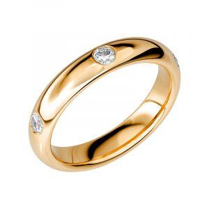 Schalins Vigselring Sign Of Love SR2026 18K Guld 0