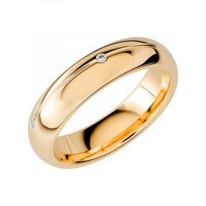 Schalins Vigselring Sign Of Love SR2027 18K Guld 0