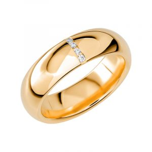 Schalins Vigselring Sign Of Love SR2028 18K Guld 0