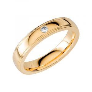 Schalins Vigselring Sign Of Love SR2033 18K Guld 0